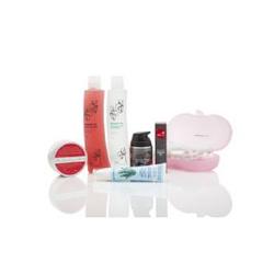 Делюкс-набор средств с маслом шиповника (6 продуктов) + косметичка в подарок, Rosehip Deluxe Solutions Pack