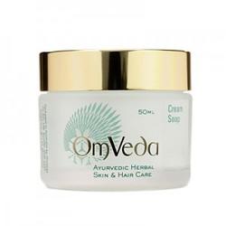 Аюрведическое кремовое мыло для лица для чувствительной и жирной кожи Cream Soap, 150 мл