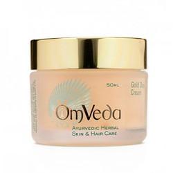 Аюрведический дневной крем с золотыми частицами, для нормальной и сухой кожи лица, Gold Day Cream 50 мл