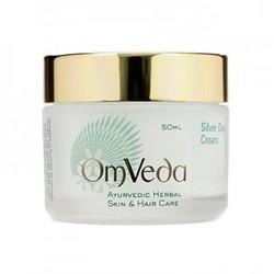 Аюрведический дневной крем для лица c частицами серебра для чувствительной кожи, Silver Day Cream, 50 мл
