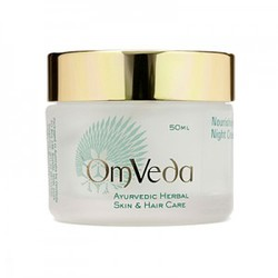 Аюрведический питательный ночной крем для сухой и чувствительной кожи лица Nourishing Night Cream, 50 мл