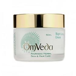Аюрведический антивозрастной ночной крем для лица c лотосом Night Lotus Cream, 50 мл