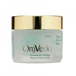 Аюрведическая маска для лица с витаминами для всех типов кожи Vitamin Enriched Mask, 50 мл